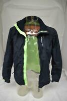 Mens Superdry Navy Windhiker Jacket Size S LOT JK37