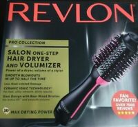 🔥 NEW Revlon Pro Collection Salon One-Step 1100W Hair Dryer & Volumizer Brush