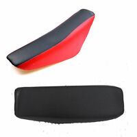Black or Red Flat Tall Seat Honda XR50 CRF50 50cc 70cc 110cc 125cc Dirt Pit Bike