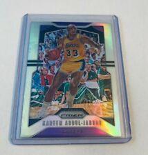 B10,885 - 2019-20 Panini Prizm Prizms Silver #20 Kareem Abdul-Jabbar Lakers