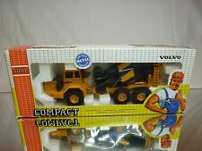JOAL COMPACT 167 VOLVO BM A-35 CEMENT MIXER - YELLOW 1:50 - GOOD IN BOX