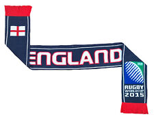 Official ENGLAND RFU Supporters scarf Rugby Union scarves Knitted Beanie
