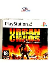 Urban Chaos EUR PS2 Retro Playstation Videogame Videojuego Completo Mint State