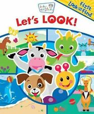 NEW - Baby Einstein Let's Look (First Look and Find)