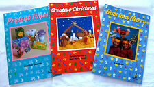 3 craft activity books, Hats, Gift Wrapping & Christmas Great Ideas From Belair
