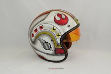 NEW HJC x Star Wars IS-5 X-Wing Fighter MC1F Open Face Motorcycle Helmet Small