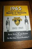 United States Military Academy West Point Register Graduates Former Cadets 1965