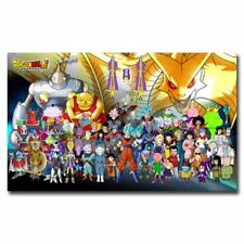 Dragon Ball Super 24x40inch Full Cast Silk Poster Art Print Wall Decoration