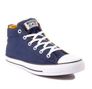 Converse Chuck Taylor All Star Street Mid Sneaker [Midnight Navy] (8M) *DEFECT*
