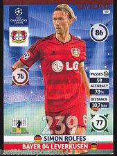 2014/15 Adrenalyn XL Champions League BAYER LEVERKUSEN Simon Rolfes KEY PLAYER