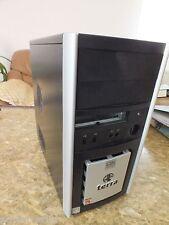 Midi Tower Terra Gehäuse f Computer PC 30382H0211456 BOYE mit Reset Schalter Box