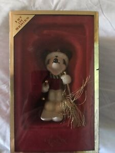 LENOX Mickey Mouse Skiing 1st in Series Christmas Ornament  Mint in Box