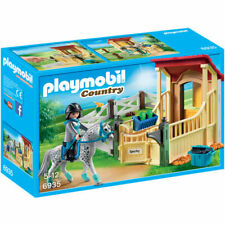 PLAYMOBIL Horse Stable with Appaloosa - Country 6935