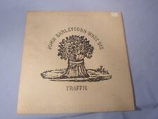 Traffic - John Barleycorn Must Die LP ILPS 9116 UK Pink Island Label 1970 VG