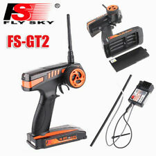 FS-GT2 2CH 2.4GHz Radio Remote Control Transmitter Receiver RC Car Boat UK Stock