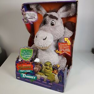 Shrek - The Yap And Nap Donkey Plush Toy Talks 2007  Dreamworks Interactive