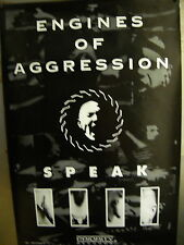 Engines Of Aggression Large Rare 1993 Promo Poster Speak perfect condition