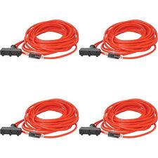 Alert Stamping WC425 Heavy Duty Indoor//Outdoor Extension Cord Orange 25-Feet
