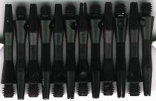 1.25in. 2ba Black Aluminum Dart Shafts: 3 per set