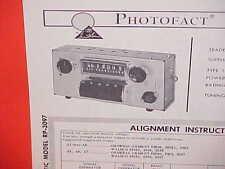 1963 AMC RAMBLER AMBASSADOR CLASSIC AMERICAN CONVERTIBLE RADIO SERVICE MANUAL 2