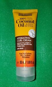 Marc Anthony Duo~Grow Long & Coconut Oil Leave In Conditioner~1.69 oz