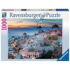 Ravensburger 196111 puzzle 1000 pezzi Serata a Santorini