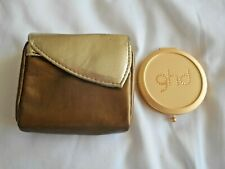 """GHD"" GORGEOUS GOLD CRYSTAL MIRROR & METALLIC PURSE BRAND NEW!!!"
