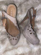 Womens Brown Taupe Kurt Geiger Worn Heels Size 3 Shoes