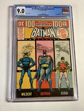 Dc 100 Page Spectacular 14 Cgc 9.0 Ow/w Pages