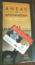 2016 ANZAC to AFGHANISTAN OFFICIAL FOLDER + 25c (OUR LEGENDS) COIN FREE POST