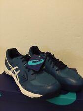 ASICS Men's Gel-Dedicate 5 Tennis Shoe - Azure/lWhite Size 10.5