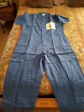 F-15 mechanic coveralls / overalls, Blue, Large