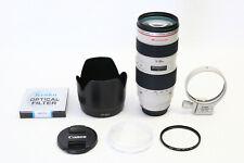 Canon EF 70-200mm f/2.8 L USM Lens EXCELLENT EOS DIGITAL +BONUS 77mm UV FILTER