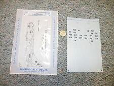 Microscale decals 1/72 72-517 A-7E H MS VA-46 -82   J126