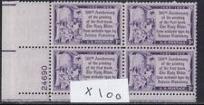 1014   BIBLE   WHOLE SALE LOT OF 100 M NH PBS  (400  STAMPS IN TOTAL)