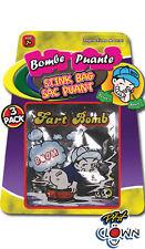 Bombe puante x 3 sacs puants odeur nauséabonde [18040] farce et attrape