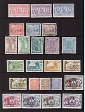 Paraguay mint hinged stamps selection