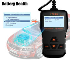 OBD2 OBDII Car Diagnostic Code Reader Scanner Tool Engine Check Battery Tester
