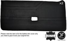 Black stitch intégrale 2X porte carte cuir housse fits alfa romeo alfetta gtv
