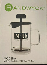 Randwyck Modena Milk Frother New Design - Glass SALE