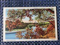 1947 Mississippi River Boulevard St Paul MN Minnesota Linen Postcard
