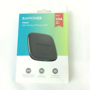 RAVPower Wireless Charging Pad Qi Enabled Device 10W Phone Charger