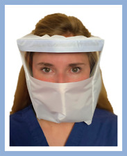 Full Face Shield Airport Airplane Subway Train Protection For Mucus Membranes!