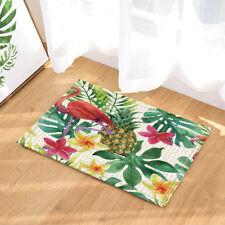 Flamingo Palm Leaves Pineapple bathroom Non-Slip Outdoor Indoor Front Door Mat