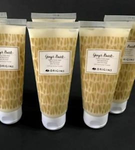 5 x Origins Ginger Burst Savory Body Wash 2.5oz /75ml each Travel size