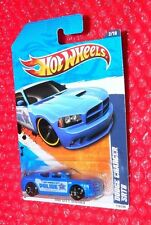 Hot Wheels City Works  Dodge Charger SRT8  #118 Police  R7535-A9A0B G2 upc label