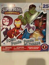 *Brand New* Marvel Super Hero Adventures 25 Piece Foam FloorPuzzle