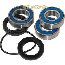 Rear Wheel Ball Bearings Seals Kit Fits KAWASAKI ZX-6R Ninja ZX600 2007-2012
