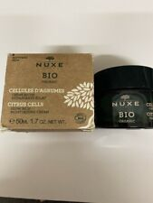 Nuxe Bio Organic Citrus Zellen Feuchtigkeitsspendende Creme NEU 50 ML