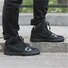 NIKE SON OF FORCE MID Trainers Mid Top Boots - UK Size 13 (EU 48.5) Triple Black